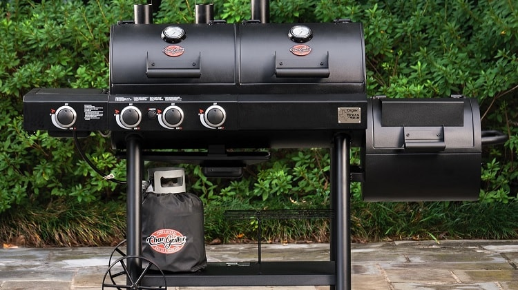 Top 6 Best Gas and Charcoal Grill Combo Consumer Reports for 2021 Reviews