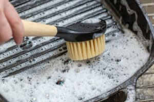 How To Clean and Season a Cast-iron Skillet