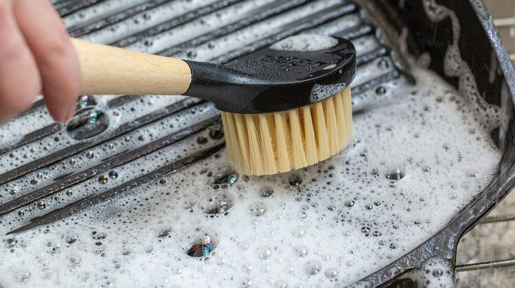 How To Clean and Season a Cast-iron Skillet with The Best Tools